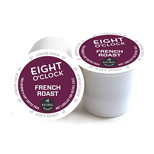 Eight O'Clock French Roast Coffee Keurig 2.0 K-Cup Pack, 18 Count