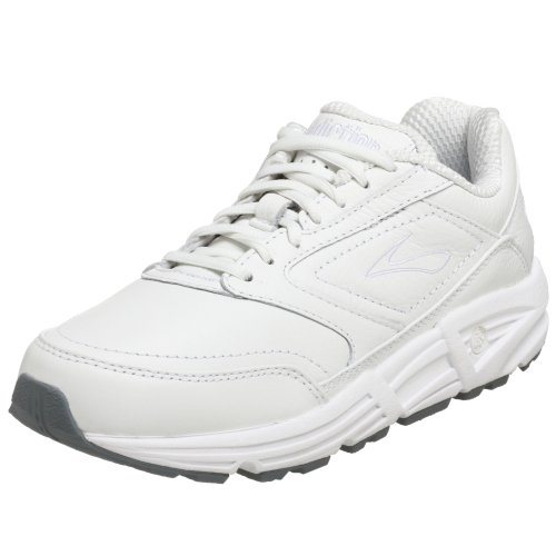 Brooks Women's Addiction Walker Walking Shoe,White,8 B (Brooks Running Shoes Women Size 8 compare prices)