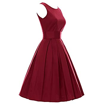 LUOUSE 'Lana' Vintage 1950's Inspired Rockabilly Swing Dress