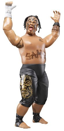 41K66RnIyIL Cheap Buy  WWE Wrestling Ruthless Aggression Series 36 Action Figure Umaga