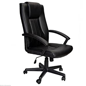 Ergonomic Office Executive Chair High Back Computer Desk Task Hyd