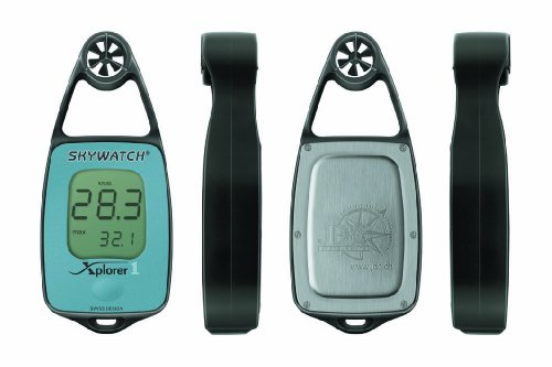 JDC Electronics Skywatch Xplorer 1 - Anemometro, colore: Blu