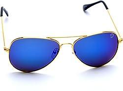 Optis Aviator Sunglasses (Golden) (SRSXC3L3)