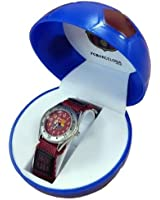 Montre enfant FC Barcelone club FCB coffret ballon de foot