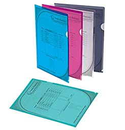 Poly Project View Folders, Opens On 2 Sides,Letter Size(8 1/2\