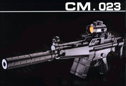 CYMA CM023 MP5 Airsoft Electric Gun Rifle AEG
