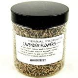Dried French Lavender Flowers 30g Jar, totally natural and chemical free