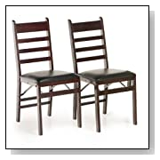 Cosco Classic Ladder Back Folding Chairs