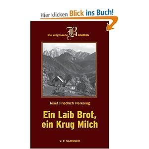 eBook Cover für  Ein Laib Brot ein Krug Milch