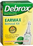 Debrox Drops Earwax Removal Aid Kit, 0.5 Fluid Ounce
