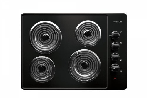 Frigidaire: FFEC3005LB 30'' Electric Cooktop with 4 Coil Heating Elements and Ready-Select Controls: Black (Electric Cooktop Coil compare prices)