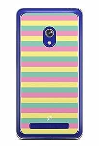 YuBingo Colourful Stripes Designer Mobile Case Back Cover for Asus Zenfone 6