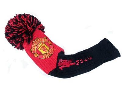 Manchester Utd Football Club Headcover Pompom Driver Golf Accessories