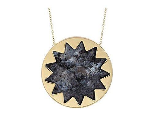house-of-harlow-1960-large-sunburst-necklace-dark-grey-stone-inlay