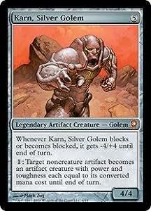 マジック:ザ・ギャザリング 【英語】 【Foil】 【From the Vault:Relics】 銀のゴーレム、カーン/Karn, Silver Golem