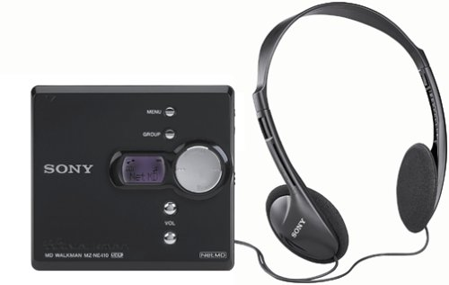 Sony MZ-NE410 High Speed Net MD Walkman Recorder