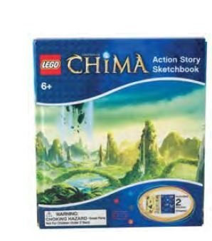 Lego Chima Sketchbook - 1