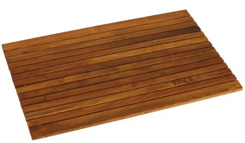 Sale Bare Decor Cosi String Spa Shower Mat In Solid Teak
