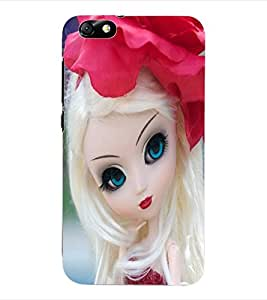 ColourCraft Cute Doll Back Case Cover for HUAWEI HONOR 4X