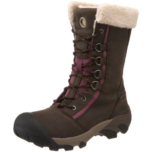 KEEN Women's Hoodoo High Lace-Up Waterproof Winter Boot