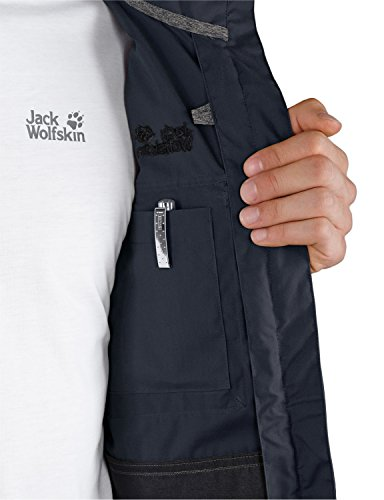 Jack Wolfskin Herren Jacke Atlas Road Men, Night Blue, XL, 1302572-1010005 -