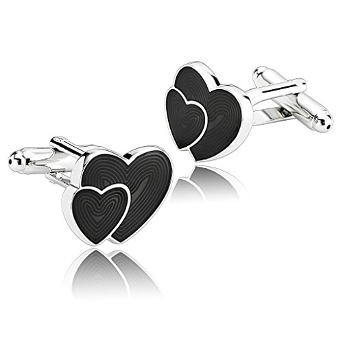 alimab-jewelry-mens-cuff-links-glitter-double-heart-design-black-stainless-steel-men-cufflinks