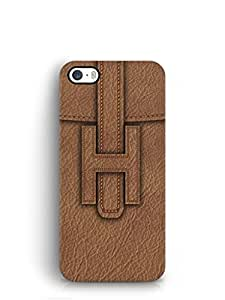 Cover Affair Leather Printed Back Cover Case for Apple iPhone 5S