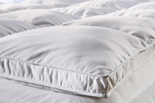 Double Size Goose Feather Mattress Topper