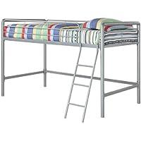 Dorel Junior Metal Loft Bed (Silver)