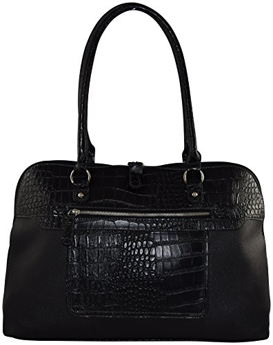 Ultimate Work Tote, Rozlyn Rawhide PU Leather Business Women