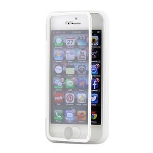 3D Prime strass scintillants TUFF Silicone Etui Coque Case Protection dur Housse de pour iphone 5 5S transparent