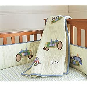 Childrens Nursery Bedding on Amazon Com  Pottery Barn Kids Tractor Nursery Bedding  Baby