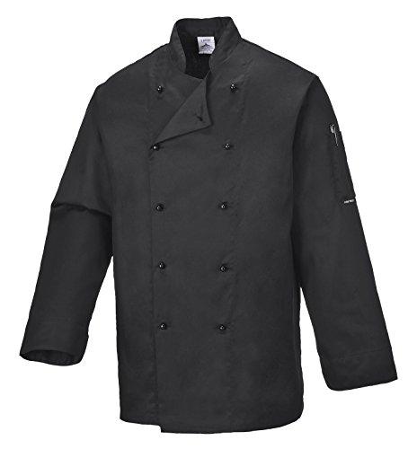 portwest-c834bkrm-giacca-da-chef-somerset-nero-m