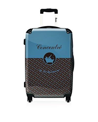 ikase 20 Lollipops Concentrated Suitcase, Black/Blue/Brown