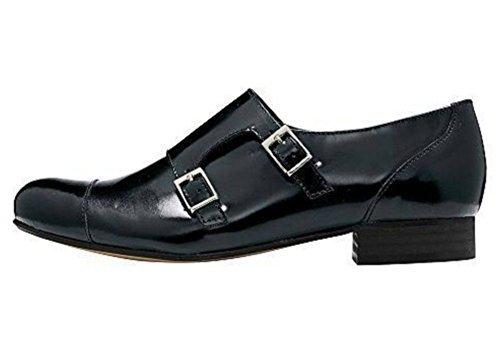 Pantofola Donna Pelle nappa di Patrizia Dini - Nero, Donna, 37 EU