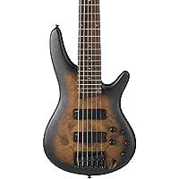 Ibanez SR400 6-string Bass Claro Walnut Top