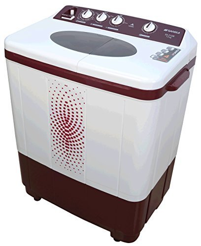 Sansui SSF72R 7.2 Kg Semi Automatic Washing Machine