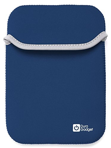 DURAGADGET Blue & Black Reversible Neoprene Sleeve For PocketBook Touch Lux 3 / Lux 2 / Lux eReader from Electronic-Readers.com
