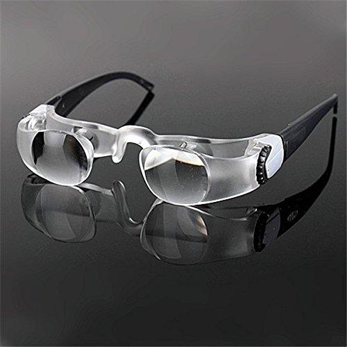 Doradus Maxtv loupes d'écran de TV binoculaires concentrant le verre grossissant de verres pour la vision basse