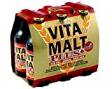 VITAMALT PLUS Energy Drink with Aloe Vera-Ginseng-Royal Jelly -- 6 Pack