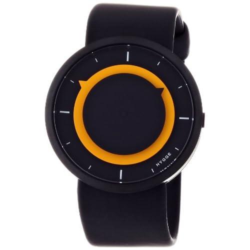 [ヒュッゲ]HYGGE 腕時計 3012-BLACK/YELLOW MSP3012BC(YE)  【正規輸入品】