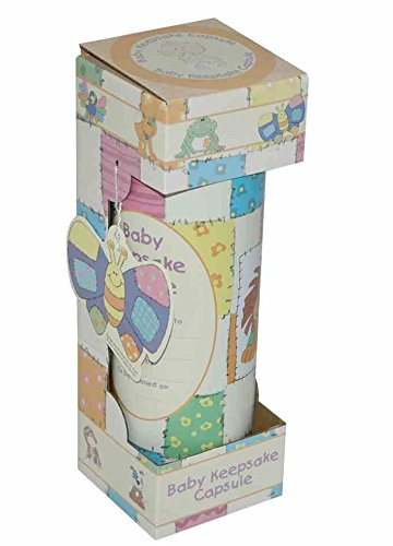Patchwork Design Baby Keepsake Capsule