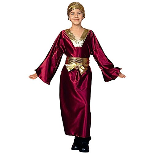 Kid's Wine Wiseman Biblical Costume (Size: Medium 810)