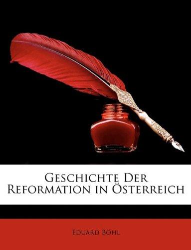 Geschichte der Reformation in Österreich