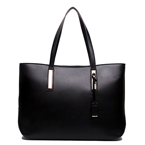 Ladies Designer Leather Style Large Tote Bag