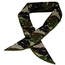 Cool Wrap 303 TC Cooling Scarfs, Tropical Camo