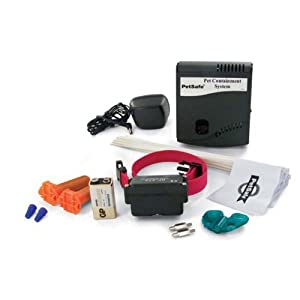PetSafe Stubborn Dog Radio Fence Without Wire and Flags