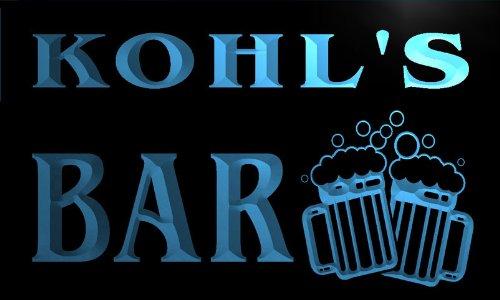 w003614-b-kohls-nom-accueil-bar-pub-beer-mugs-cheers-neon-sign-biere-enseigne-lumineuse