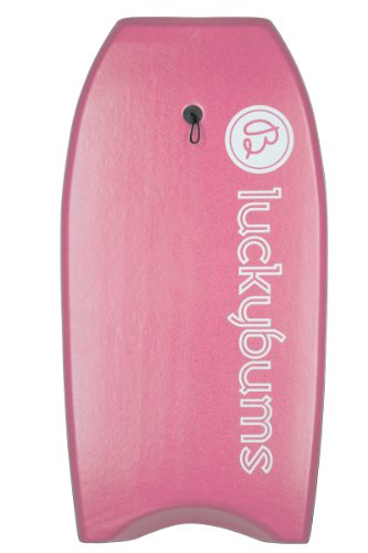 Lucky Bums Body Board, 41-Inch, Pink