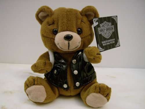 Harley-Davidson Bean Bag Plush Motorhead the Bear